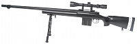 M24 SWS, black, bipod, scope, Well, MB4405D