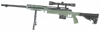 M24 RAS, stock M4, OD, bipod, scope, Well, MB4412D