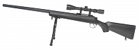 VSR-03D, black, bipod, scope, Well, MB03D