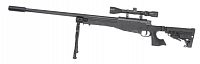 L96-14D, black, bipod, scope, Well, MB14D