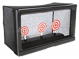 Practice shooting range with net, Well