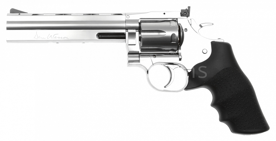 Dan Wesson 715, 6 inch, stainless, Hi-Power, GNB, ASG