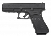 Glock 17, frame 4. gen., black, GBB, WE