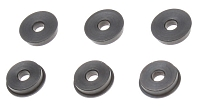 Bushings, steel, oilless, 9mm, CNC, SHS