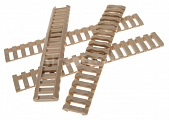 Rails cover set, low profile, 4pcs, TAN, D-Boys