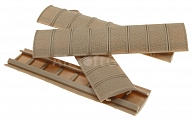 Rails cover set, XT, TAN, 4pcs, D-Boys