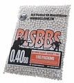 Airsoft BBs, 0.40g, 6mm, white, 2500rd, BLS
