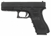 Glock 17, frame 3. gen., black, GBB, WE