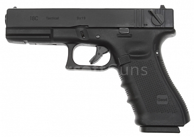 Glock 18C, frame 4. gen., black, GBB, WE
