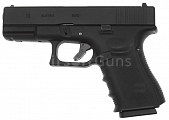 Glock 19, frame 4. gen., black, GBB, WE