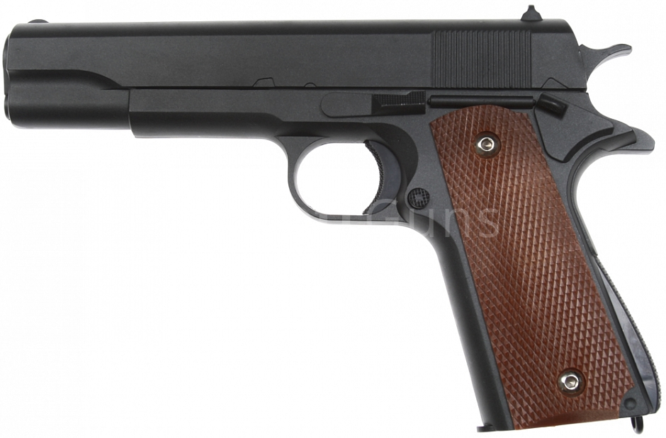Colt M1911A1, metal, black, Galaxy, A&K, G.13