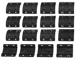 Rails cover set, XTM-2, black, 32pcs, Magpul PTS