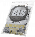Airsoft BBs, 0.38g, 6mm, gray, stainless, 1000rd, small bag, BLS