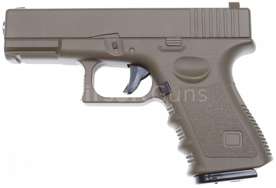 Glock 25, metal, TAN, Galaxy, A&K, G.15