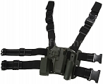 Tactical holster, Glock CQC lite, OD, Blackhawk