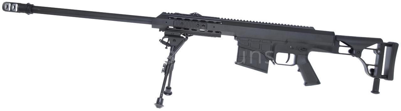 Barrett M98b Black Bipod Snow Wolf Sw 016 Airsoftguns