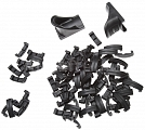 Rails cover set LaRue, Hand Stop, black, 74pcs, ACM