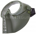 Protective mask, with lens, small, OD, ACM
