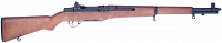 M1 Garand, real wood, metal, AEG, A&K