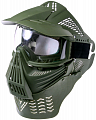 Protective mask, with lens, large, OD, ACM