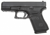 Glock 19, frame 5. gen., black, GBB, WE