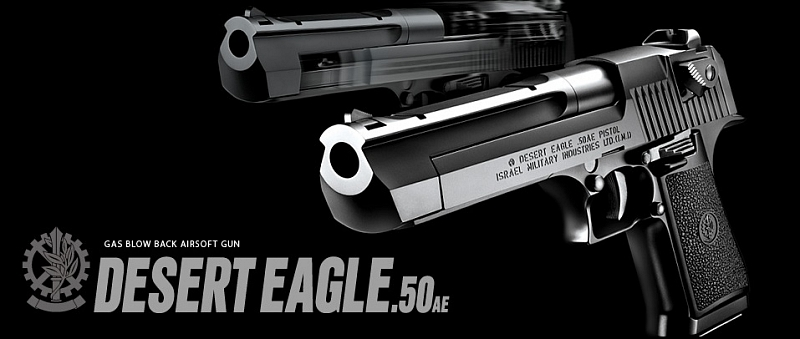 Reviews TM Desert Eagle  50AE Hard Kick | AirsoftGuns