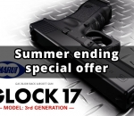 Airsoft special offers for summer ending, GBB pistols from ASG and Tokyo Marui, spring powered shotguns from Cyma, AirsoftGuns custom AEG