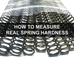 How to measure real hardness of airsoft springs?