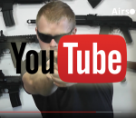 AirsoftGuns YouTube: AEP Glock 18C, Cyma CM 030, review and shooting test